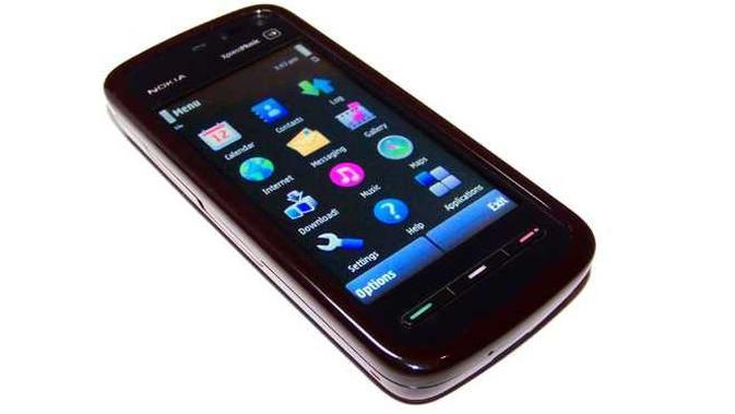 Nokia 5800. Dok: en.wikipedia.org
