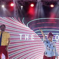 The Groove saat tampil di Meikarta Music Festival. (Deki Prayoga/Bintang.com)