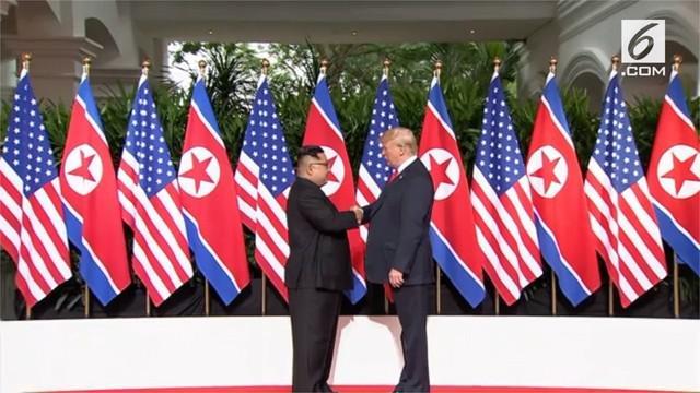Meski belum jelas kesepakatan apa yang dihasilkan dari pertemuan bersejarah antara Donald Trump dan Kim Jong-un, kedua pihak memberikan sinyal positif.