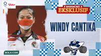 Wawancara Eksklusif Olimpiade 2020 - Windy Cantika (Bola.com/Adreanus Titus)