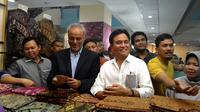 Yusril Ihza dan  Walikota South Windsor, New York, Amerika Serikat, Saud Anwar di Thamrin City, Jakarta