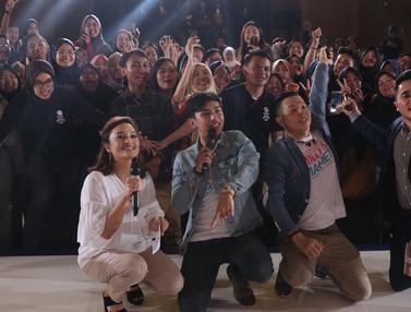 Pemeran Film Milly dan Mamet Meriahkan EGTC 2018 Bandung