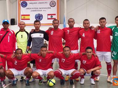 Citizen6, Lebanon:Sementara itu, Tim Futsal FPC (Force Protection Company) dari Indonesia juga menang dengan skor 3-1 melawan tim dari Kontingen China. (Pengirim: Badarudin Bakri)