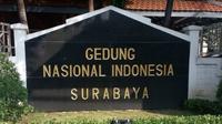 Gedung Nasional Indonesia di Surabaya, Jawa Timur (Foto: Dok Kemendikbud)