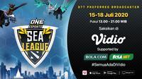 Playoff ONE Esports DOTA 2 SEA League. (Sumber: Vidio)