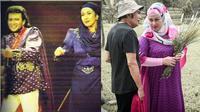 Camelia Malik dan Rhoma Irama kembali dipertemukan syuting bersama. (Sumber: Instagram/@cameliamalikreal)
