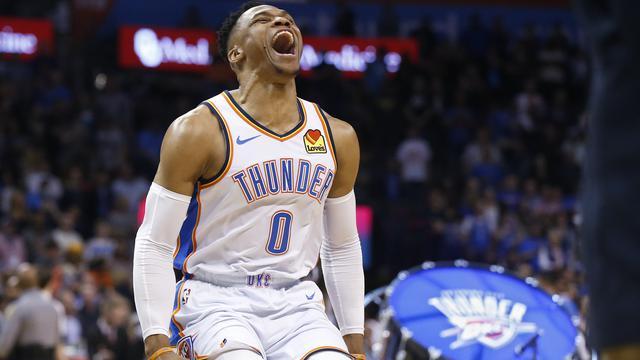 Thunder Hajar Lakers, Westbrook Masuk Buku Sejarah