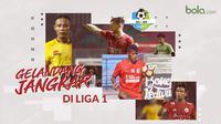 Gelandang jangkar di Liga 1. (Bola.com/Dody Iryawan)