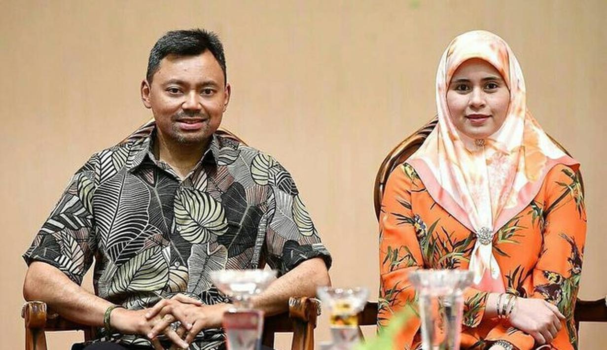 Mungkin tidak banyak orang yang tahu siapa itu Sarah Salleh. Dia adalah seorang perempuan yang dipinang oleh Al-Muhtadee Billah, Putra Mahkota Brunei Darussalam. (Instagram.com/bruneiroyalfamily)