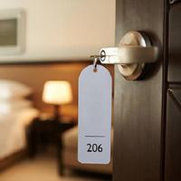Ilustrasi kamar hotel. (iStockphoto)