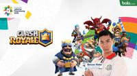 Atlet Clash Royale Asian Games 2018. (Bola.com/Dody Iryawan)