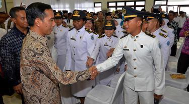 Presiden Joko Widodo Resmikan Kampus IPDN Lombok Tengah