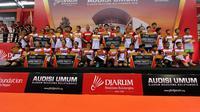 Rangkaian pertandingan Audisi Umum Djarum Beasiswa Bulutangkis 2018 di Purwokerto, Jawa Tengah, telah berakhir Senin (23/7/2018). Total 32 peserta dari enam kategori lolos ke tahap final, di Kudus. (doc. Djarum)