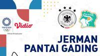 Olimpiade 2020 - Jerman Vs Pantai Gading (Bola.com/Adreanus Titus)