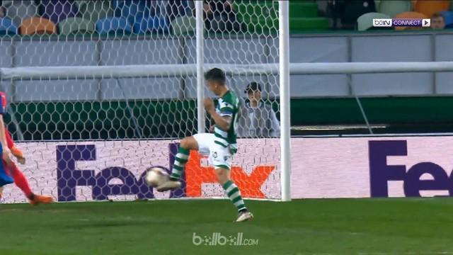 Sporting Lisbon sukses mengemas kemenangan di leg pertama babak 16 besar Liga Europa usai menundukkan Viktoria Plzen dengan skor 2...