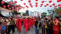 Perayaan Imlek di Surakarta.