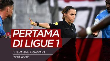 Berita video Stephanie Frappart akan mencetak sejarah dengan menjadi wasit wanita pertama yang pimpin laga Ligue 1.