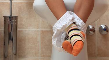 Illustrasi Toilet Training