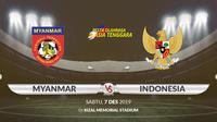 Sea Games 2019 - Sepak Bola - Myanmar Vs Indonesia (Bola.com/Adreanus Titus)