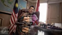 Dubes Malaysia untuk Indonesia Dato Seri Zahrain Mohamed Hashim menegaskan bahwa penyelidikan terhadap Siti Aisyah akan dilaksanakan tanpa gangguan dan campur tangan pihak lain, saat konferensi pers di Jakarta, Kamis (23/2). (Liputan6.com/Faizal Fanani)
