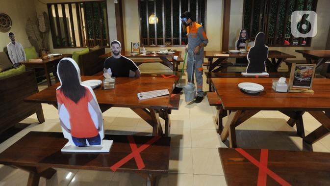 PSBB Transisi, Penyajian di Rumah Makan Padang Tak Boleh Prasmanan
