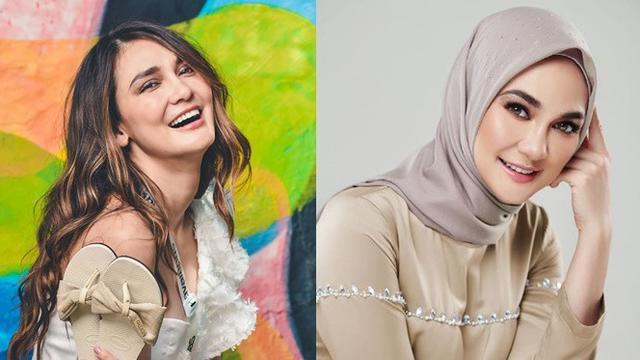 Akui Ingin Berhijrah, Ini 6 Pesona Luna Maya Pakai Hijab ...