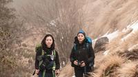 Nikita Willy di Mardi Himal Trek. (dok. Instagram @nikitawillyofficial94/https://www.instagram.com/p/B86GqhJH72r//Adhita Diansyavira)