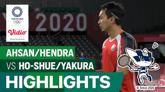 Berita video highlights bulutangkis ganda campuran Olimpiade Tokyo 2020, Ahsan / Hendra menang 2-0 atas Jason Ho Shue/Nyl Yakura