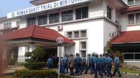 Kasal Laksamana TNI Ade Supandi resmikan sejumlah fasilitas kesehatan di RSAL dr. Mintohardjo, Bendungan Hilir, Jakarta Pusat.
