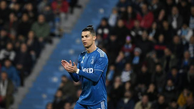 Penyerang Juventus, Cristiano Ronaldo.
