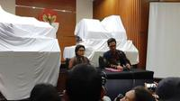 KPK saat konferensi pers terkait OTT anggota DPR Bowo Sidik. (Liputan6.com/Fachrur Rozie)