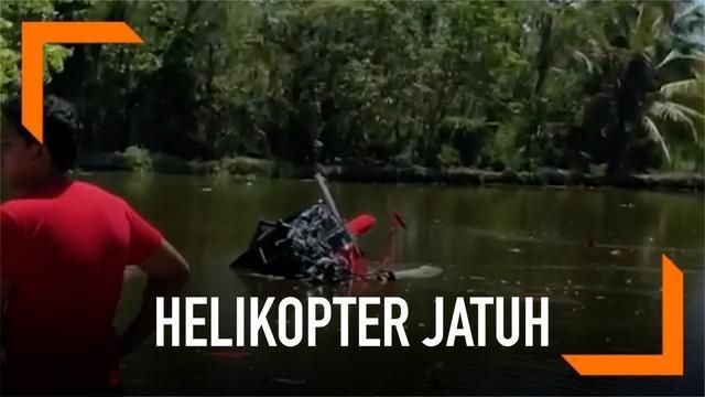 Total, satu pilot dan tiga penumpang tewas usai helikopter jatuh pada sebuah kolam ikan di Bulacan, Filipina. Helikopter dilaporkan kehilangan kendali tak lama setelah lepas landas. Sedangkan penyebab pasti jatuhnya helikopter masih diselidiki.