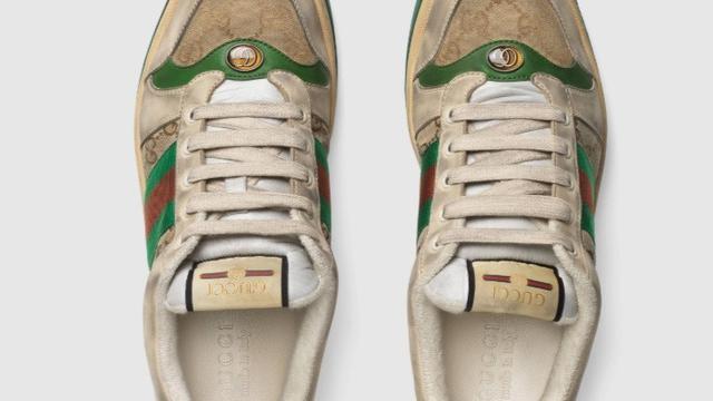 sepatu Gucci motif dekil (foto: Web Gucci)