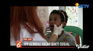 YPP Emtek  Group bersama alumni SMA 5 Medan menggelar bakti sosial di Bogor, yang diikuti lebih 50 orang siswa Panti Asuhan Bukit Karmel.