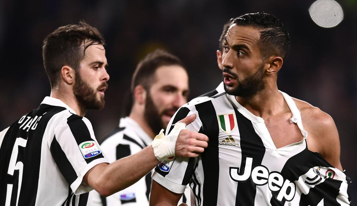 super popular 9968f 7601a FOTO: Insiden Jersey Robek Warnai Laga Juventus vs Atalanta ...