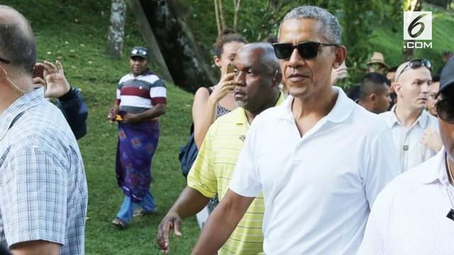 Protokol Obama meminta tertutup dari media dan hanya kunjungan biasa bukan kunjungan kenegaraan.
