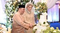 Pangeran Kelantan menikah dengan waga Swedia (Sumber: Facebook/Pusat Rawatan Islam Terapi bil Quran, Malaysia)