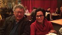 Wimar Witoelar dan Sri Mulyani di Washington DC (Dok @smindrawati)