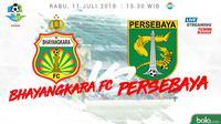 Jadwal Liga 1 2018 pekan ke-15, Bhayangkara FC Vs Persebaya Surabaya. (Bola.com/Dody Iryawan)