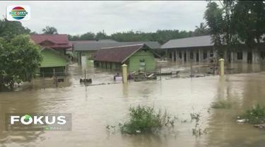 Setelah Aceh Barat, Aceh Singkil, Aceh Barat Daya, dan Aceh Selatan dilanda banjir, kinmi Aceh Jaya juga ikut terdampak banjir dengan ketinggian 1,5 meter.