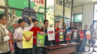 Konfrensi Pers persiapan may Day 2018