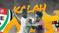 Timnas Indonesia kalah 0-5 saat menghadapi Uni Emirat Arab pada pertemuan pertama kualisikasi Piala Dunia 2022. (Bola.com/Dody Iryawan)