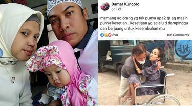 Viral Perjuangan Pria Rawat Istrinya yang Sakit, Kesetiaannya Bikin Haru