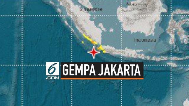 Video Gempa Magnitudo 7 4 Berpusat Di Banten News Liputan6 Com
