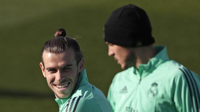 Menengok Latihan Pemain Real Madrid Jelang Hadapi PSG