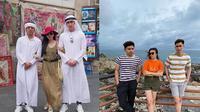 Potret Kompak Persahabatan Verrell, Febby, dan Riza. (Sumber: Instagram.com/bramastavrl dan Instagram.com/rizasyah_14)