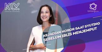 Chelsea Islan Tak Alami Kejadian Mistis Saat Syuting Film Sebelum Iblis Menjemput.