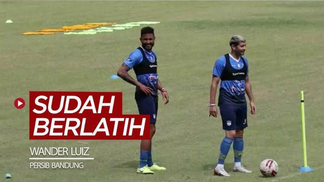 Berita video striker asing Wander Luiz sudah ikut berlatih bersama tim Persib Bandung pada Selasa (18/8/2020).