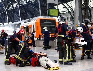 Kecelakaan Kereta, 54 Orang Luka-Luka di Spanyol