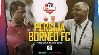 Shopee Liga 1 2020: Persija Jakarta vs Borneo FC. (Bola.com/Dody Iryawan)